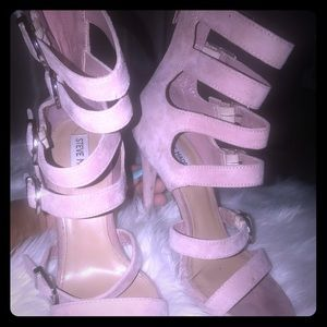 Steve Madden 6 inch pink suede beauties!